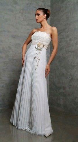 6060c75dc4c805 Весільні сукні для вагітних: ода вічної жіночності | Весільний блог
