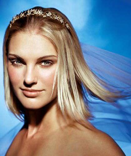 Модні весільні зачіски 2013 фотомікс