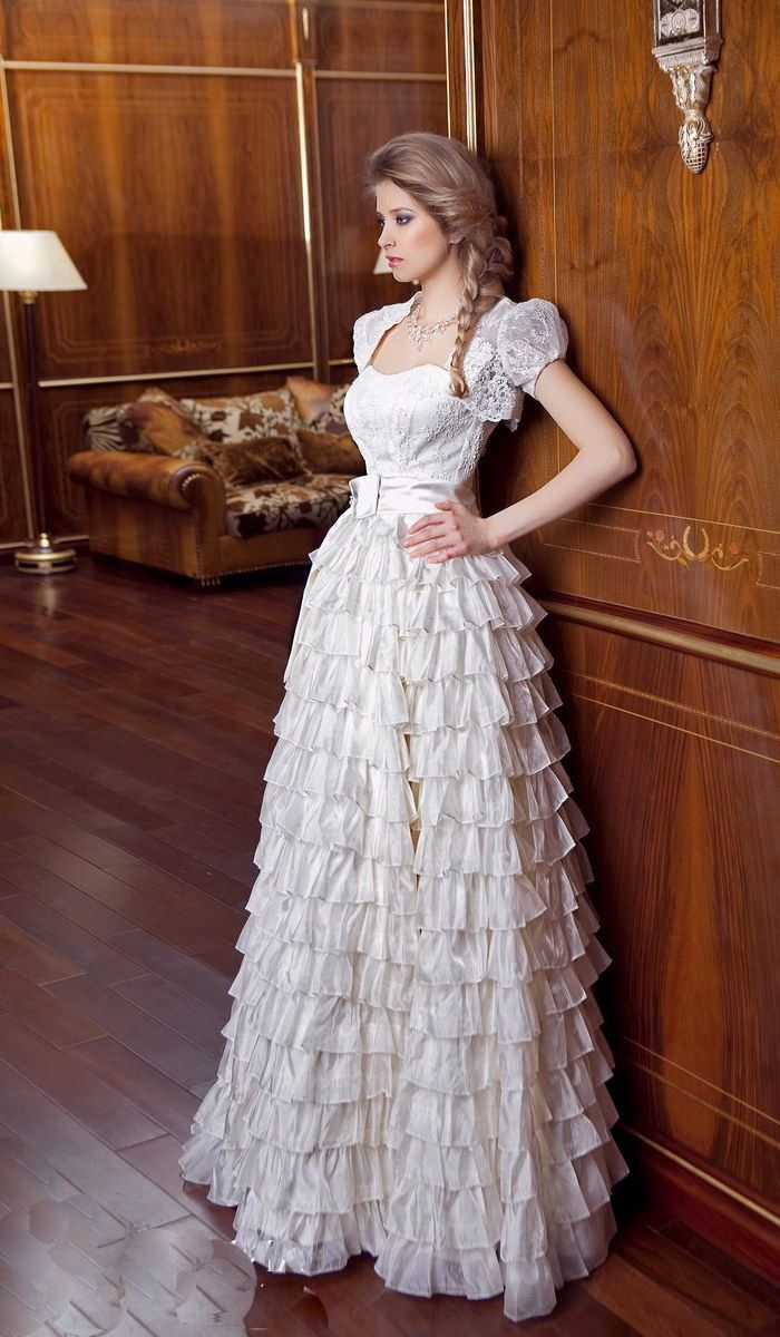 Весільні плаття від Ганни Богдан не поступаються...